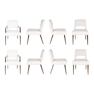 Set of Eight Hofford Dining Chairs For Sale