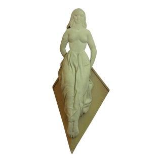 Isabel Case Borgatta Mid-Century Figural Fabric Sculpture For Sale