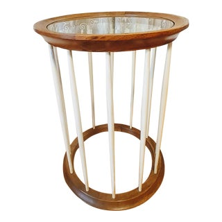 Drexel Spindle Side Table For Sale