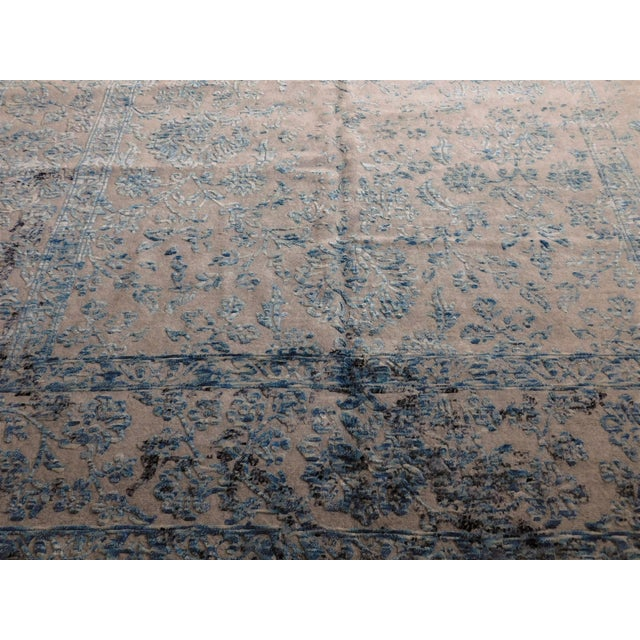 Hand Knotted Indian Rug - 8′ × 10′ - Image 6 of 11