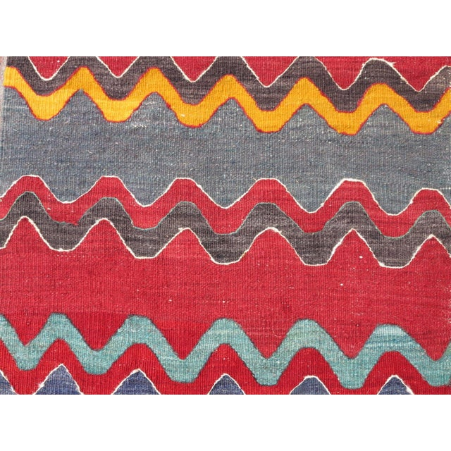 Vintage Turkish Oversized Kilim Runner - 2′2″ × 15′8″ - Image 8 of 11