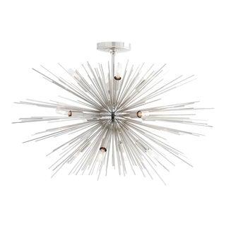 Arteriors Modern Nickel Finished Zanadoo Sputnik Chandelier For Sale