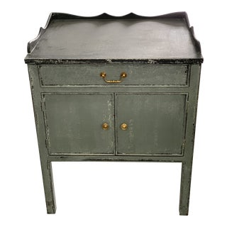 Spanish Shabby Chic Style Gray Chest For Sale