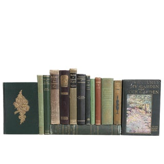 The Vintage Garden Book Collection - Set of 18
