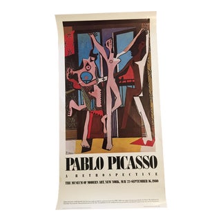 Pablo Picasso: A Retrospective Poster 1980