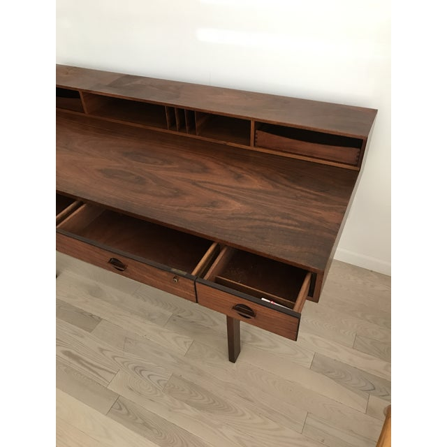 Peter Lovig Nielsen Rosewood Folding Dansk Danish Desk Circa 1965 - Image 5 of 11