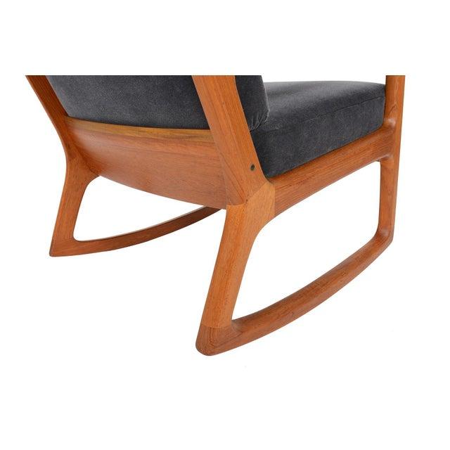 Ole Wanscher Teak Senator Rocking Chair - Image 8 of 8