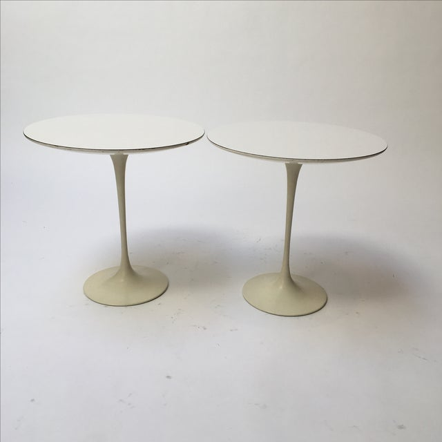 1st Edition Tulip Side Tables - Pair - Image 3 of 11
