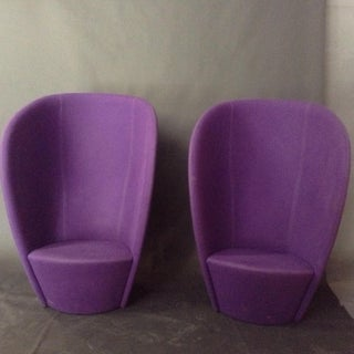 Contemporary Danish Shelter Chairs - a Pair Preview