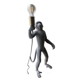 Modern Standing Monkey Lamp For Sale