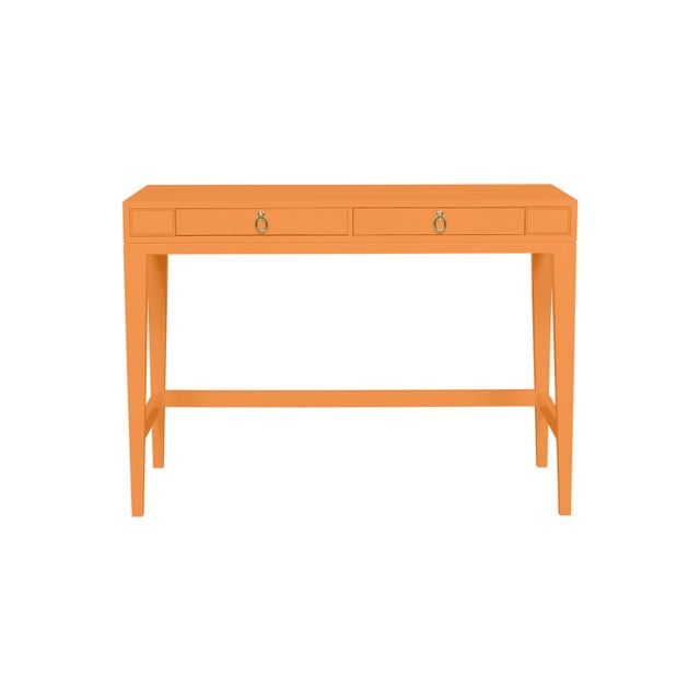 Traditional Casa Cosima Living Issa Counter Height Desk - Butterscotch For Sale - Image 3 of 3