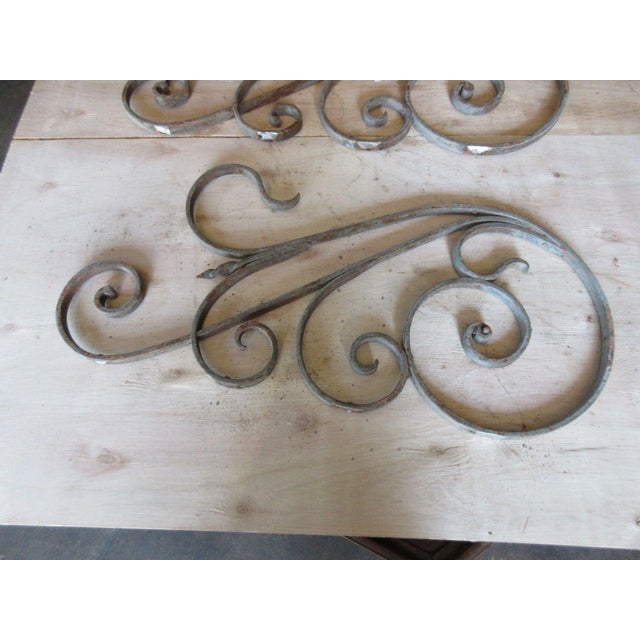 Antique Victorian Iron Gate Architectural Salvage For Sale - Image 5 of 5