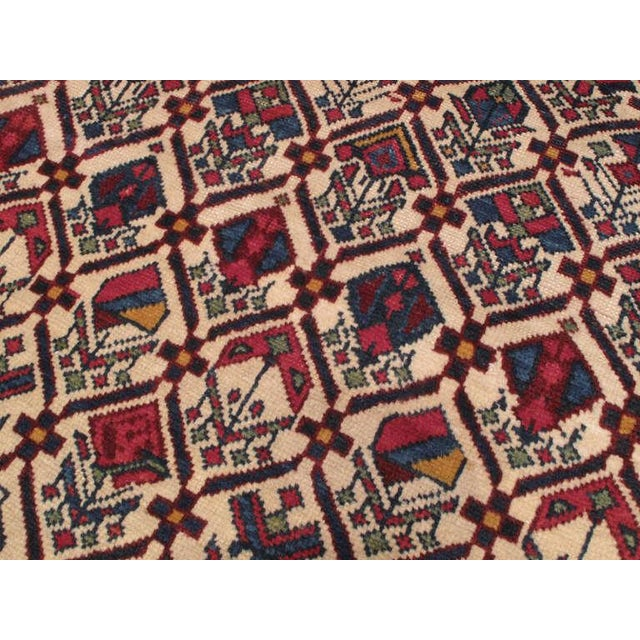 Antique Shirvan Prayer Rug For Sale - Image 4 of 7