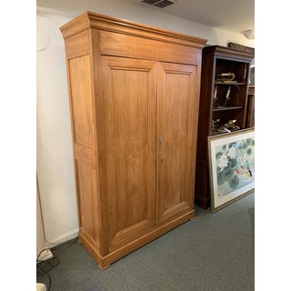 French + Oak Clothing Armoire Preview
