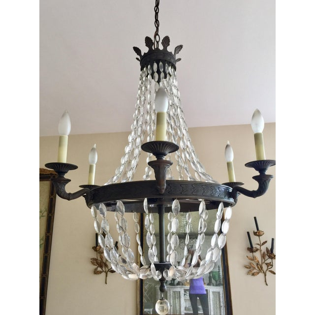 Empire-Style Chandelier - Image 3 of 5