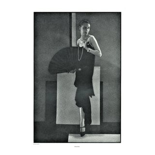 Art Deco Chanel Fashion Photo Print by Steichen For Sale
