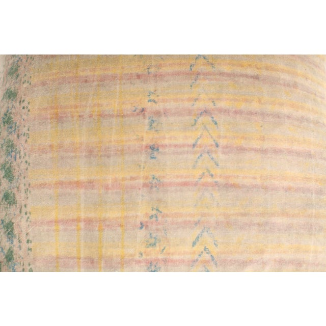 Fabric ABC Carpet and Home Graffiti Pillow For Sale - Image 7 of 7
