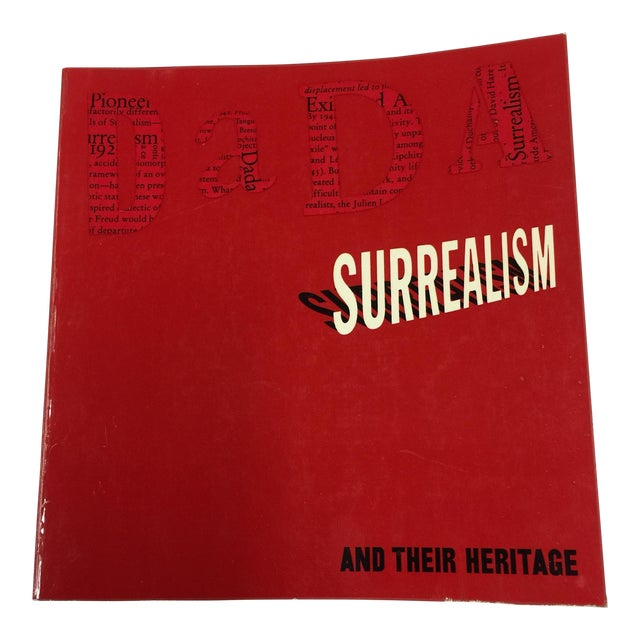 1968 Dada Surrealism & Their Heritage MoMA For Sale