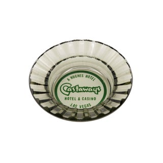 The Castaways Hotel Glass Ashtray Preview