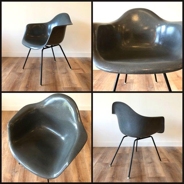 Eames Fiberglass Molded Side Chair for Herman Miller For Sale - Image 12 of 13