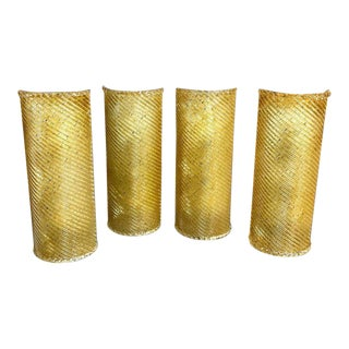 Murano Gold Infused Wall Sconce For Sale