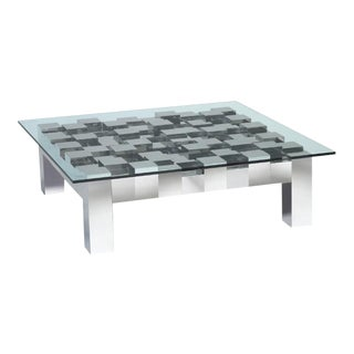 Flash Square Coffee Table For Sale
