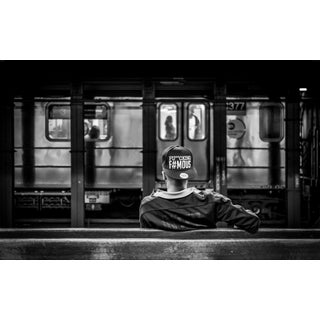 """""""Fu**cking F#mous - New York City"""" Contemporary Black and White Photograph For Sale"""