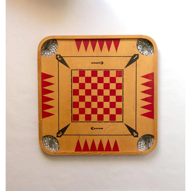 1960s 1960s Vintage Carrom Board For Sale - Image 5 of 5