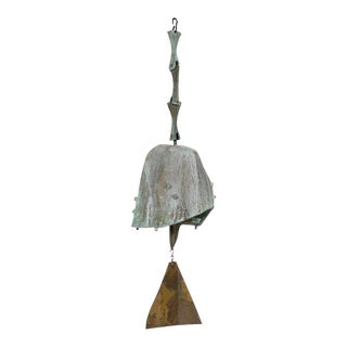 Mid Century Vintage Paolo Soleri Wind Bell For Sale