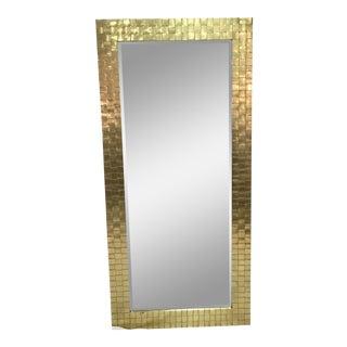 1978 Chapman Woven Brass Mirror
