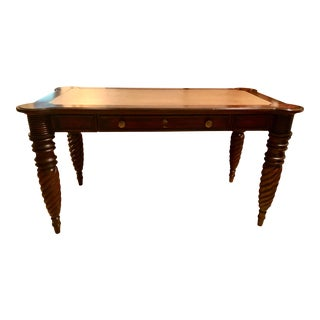 Tommy Bahama for Lexington Leather Topped Desk For Sale