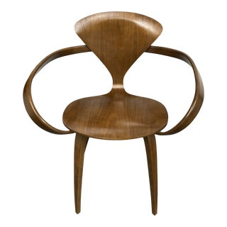 Cherner Chair Co Norman Cherner Walnut Chair For Sale