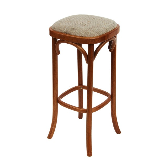 Rattan Barstools - Set of 3 - Image 3 of 4