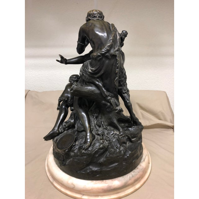 Late 19th Century Antique Clodion French Figural Bronze Sculpture For Sale In Las Vegas - Image 6 of 11
