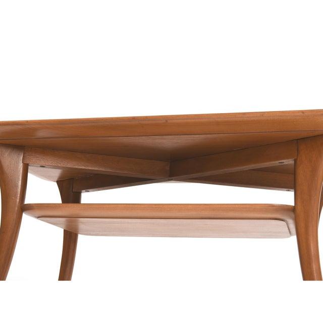 Brown 1950s Terence Harold Robsjohn-Gibbings Klismos Side Tables - a Pair For Sale - Image 8 of 9