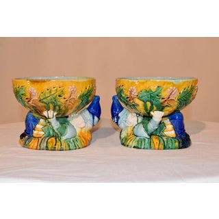 "Majolica ""Punch"" Bowls - a Pair Preview"