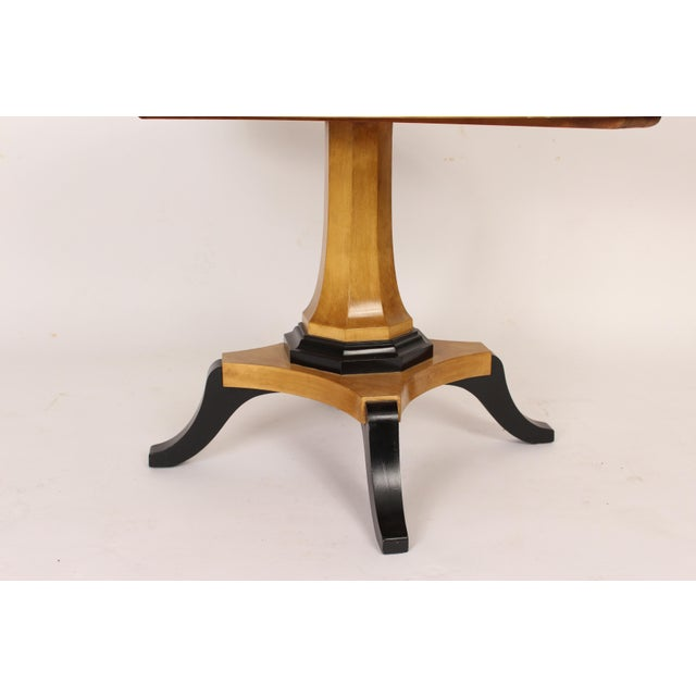 Biedermeier Style Oval Occasional / Center Table For Sale In Los Angeles - Image 6 of 11