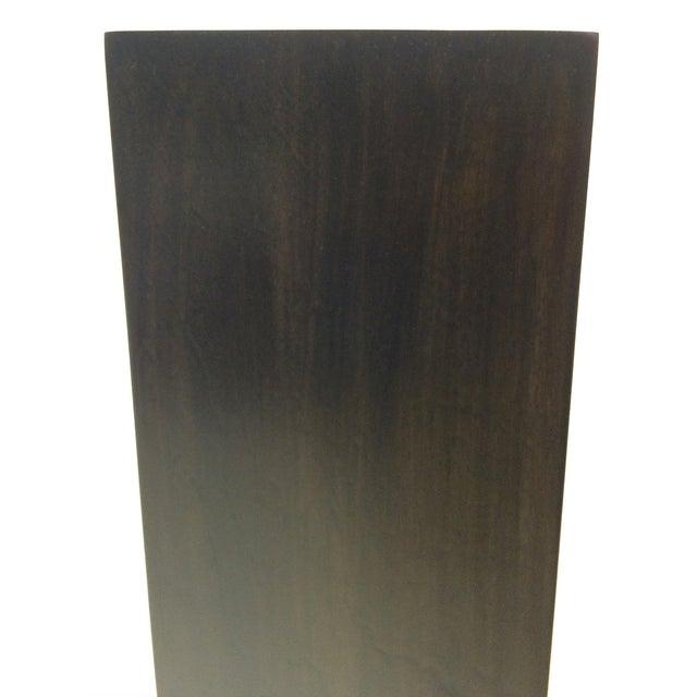 Ebony Stain Swivel Top Pedestal - Image 3 of 5