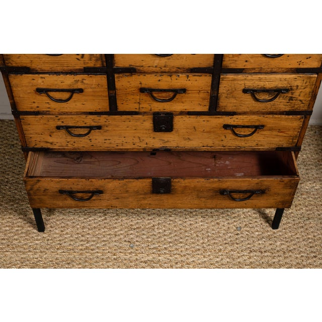 Antique Japanese Tansu For Sale In Los Angeles - Image 6 of 10