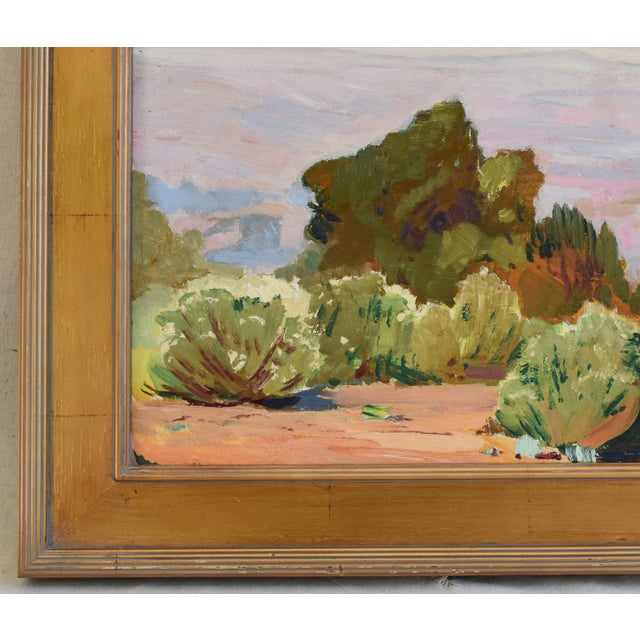 George Barker(1882-1965), Plein Air California Landscape Oil Painting For Sale In Los Angeles - Image 6 of 10