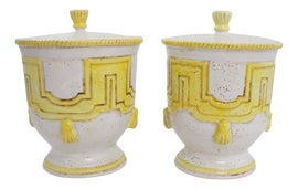 Image of Yellow Ginger Jars