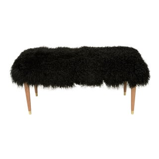 """Black Curly Abby 38"""" Bench For Sale"""