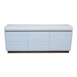 Mid-Century Modern Lane Lacquered Low Dresser