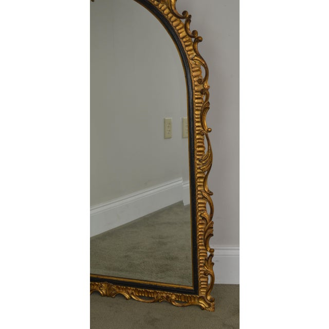Dauphine Harrison & Gil Gold Gilt Wood Rococo Carved Wall Mirror For Sale - Image 11 of 13