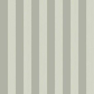 Cole & Son Regatta Stripe Wallpaper Roll - Olive For Sale