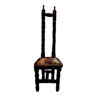 Jacobean Traditional Hall Chair For Sale
