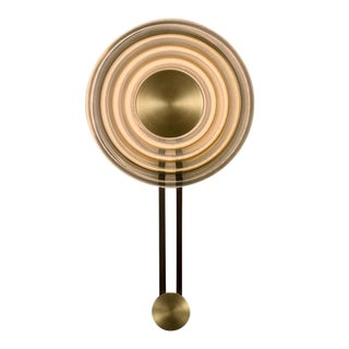 Enquire Solar Wall Light With English Brass Feature For Sale