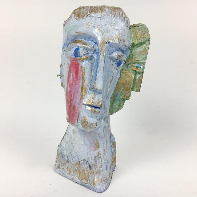 Ben Kupferman Resin 2 Faced Bust - Image 2 of 6