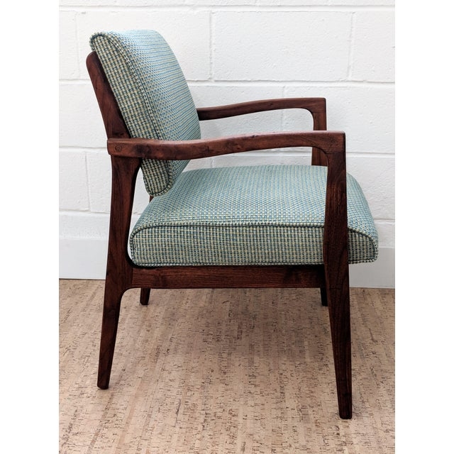 1960s Restored Vintage Armchair For Sale - Image 4 of 11