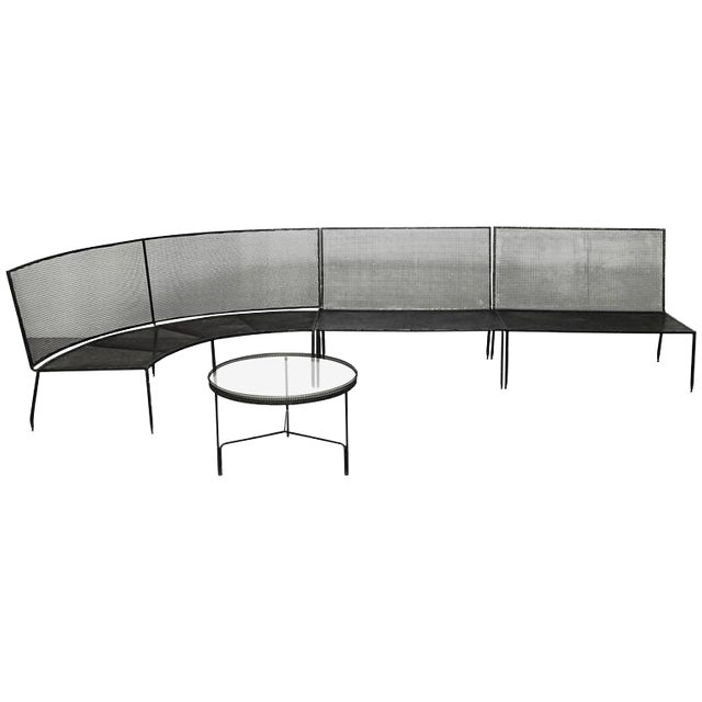 Set of Mathieu Mategot Sofa and Coffee Table, circa 1950 - Image 1 of 8